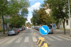 Oprava mostu v ulici Korunovační