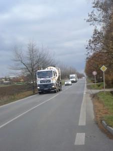 Kamýcká směrem do Prahy
