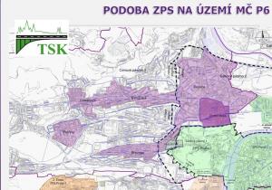 Návrh zón placeného stání v Praze 6