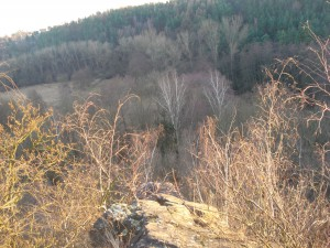 Z vrchu na Suchdol