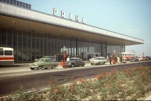 Letiste Praha archivní 60. léta