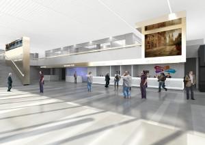 Vizualizace  nového terminálu