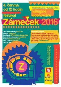 Plakát - ZÁMEČEK 2016