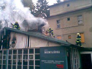 Z požáru v roce 2007. Foto: historiesuchdola.cz